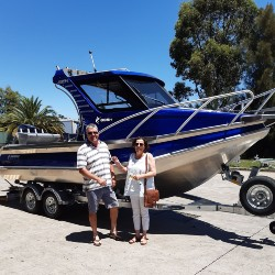 Profile Boats Testimonal by Charles and Rhonda NSW Australia 635H Limited