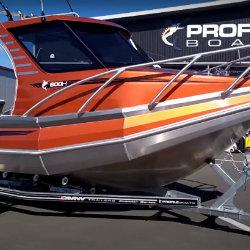 Profile Boats Testimonal by Adrian de Bruin 600H Sport