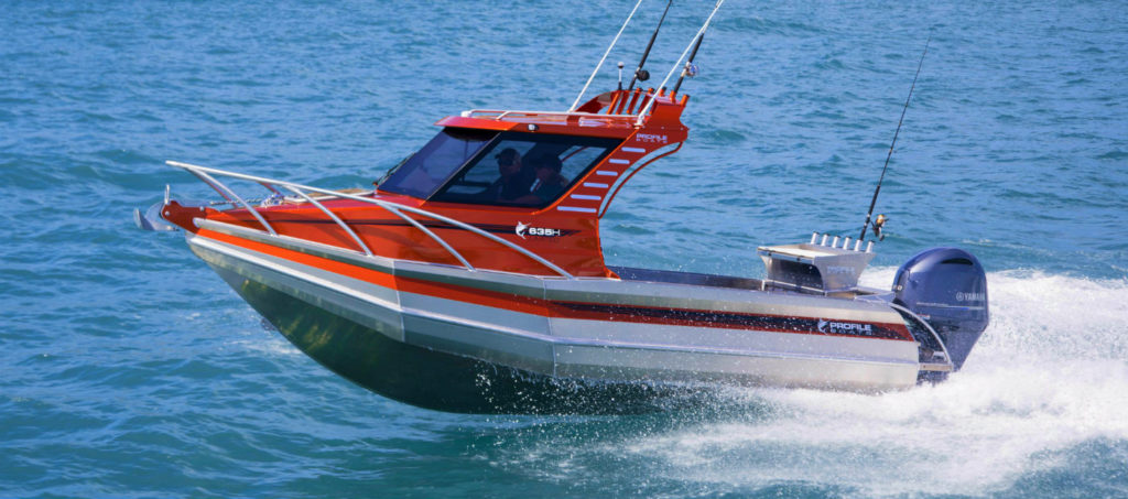 Profile boats no 1 brand aluminium fishing boat for How to not get seasick on a fishing boat