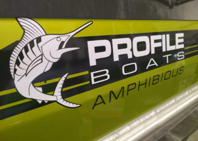 Profile Boats Amphibious