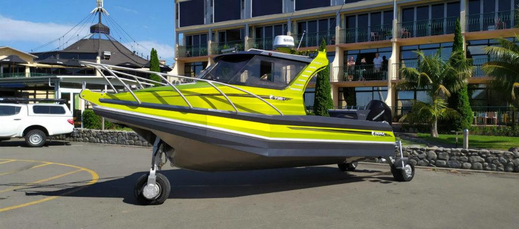 Profile Boats Amphibious Boat