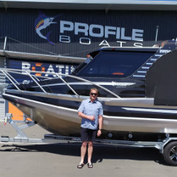 Profile Boats Testimonal by Shaun Hoskin 735H Limited