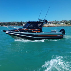 Profile Boats Testimonal by Nigel Smith 735H Platinum